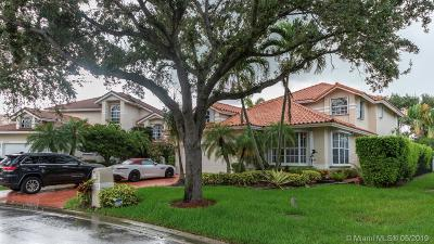 Coral Springs Single Family Home For Sale: 11815 Highland Pl