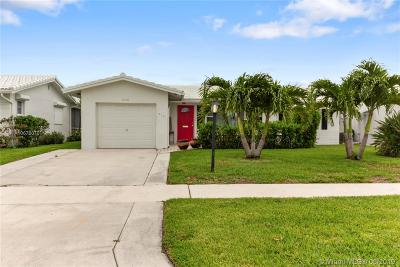 Boynton Beach Single Family Home For Sale: 718 SW 18th St