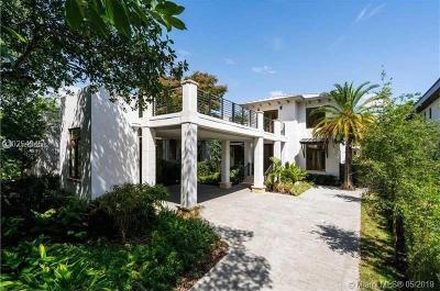 Coconut Grove Single Family Home For Sale: 1621 S Bayshore Dr