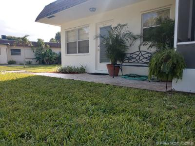 Deerfield Beach Single Family Home For Sale: 2812 SW Natura Blvd #C