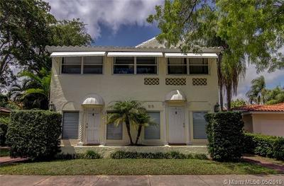 Coral Gables Multi Family Home For Sale: 515 Catalonia Ave
