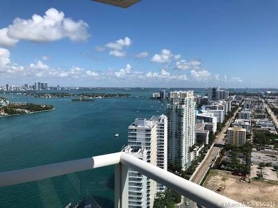 Miami Beach Rental For Rent: 450 Alton Rd #3702