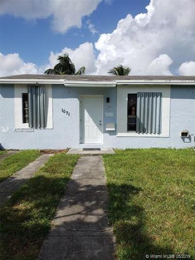 Miami Single Family Home For Sale: 1071 NW 85th St