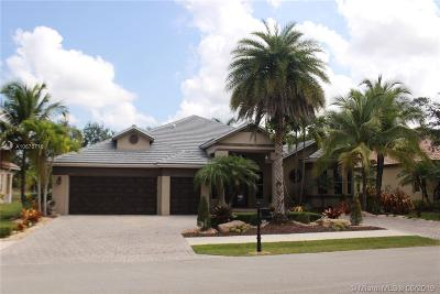 Davie Single Family Home For Sale: 8385 South Lake Forest Drive
