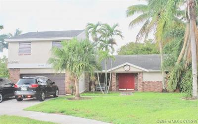 Davie Single Family Home For Sale: 14761 Madison Pl