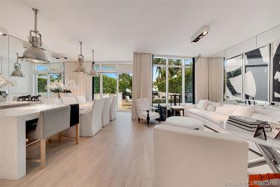 Miami Beach Condo For Sale: 50 S Pointe Dr #TWN5
