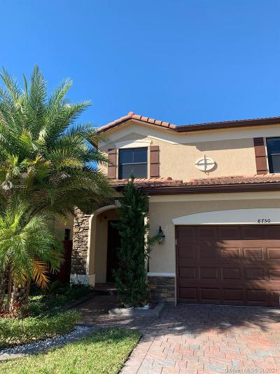 Doral Single Family Home For Sale: 8750 NW 99th Pl