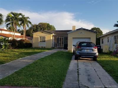 Miami Beach Single Family Home For Sale: 330 W 46th