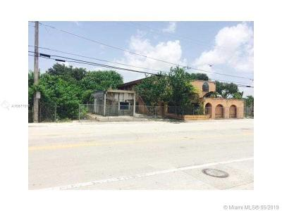 Opa-Locka Single Family Home For Sale: 2151& 2141 Ali Baba