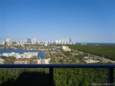 North Miami Beach Rental For Rent: 16385 Biscayne Blvd #820