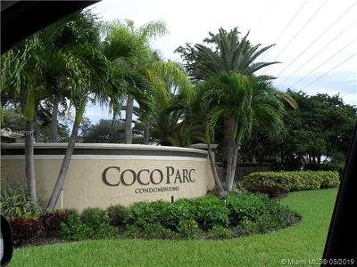 Coconut Creek Condo For Sale: 921 Lyons #3101