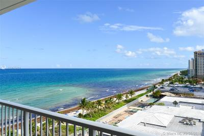 Hallandale Beach Condo For Sale: 1950 S Ocean Dr #9N