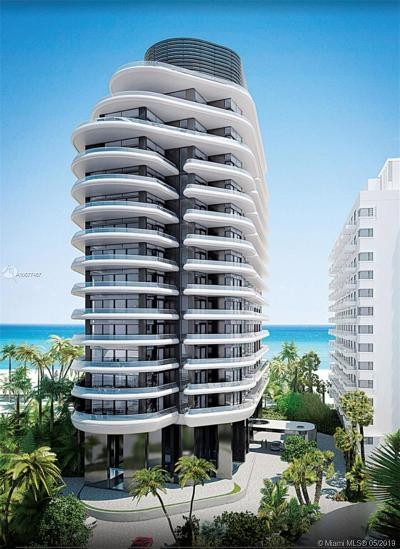 Miami Beach FL Condo For Sale: $3,950,000