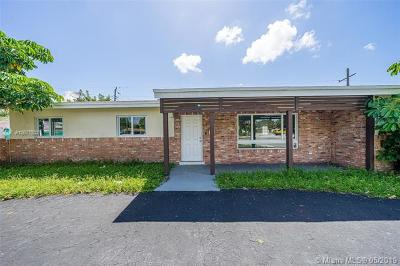 Wilton Manors Single Family Home For Sale: 2900 NW 9th Ave