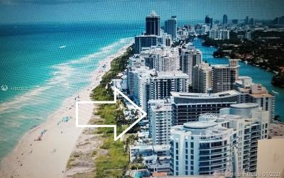 Miami Beach Condo For Sale: 5825 Collins Ave #6B