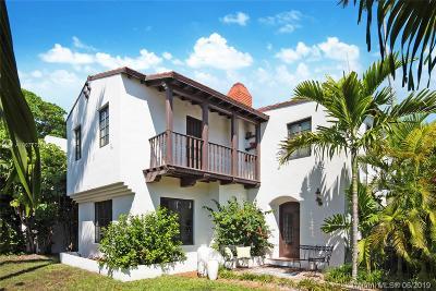 Miami Beach Single Family Home For Sale: 4770 Alton Road