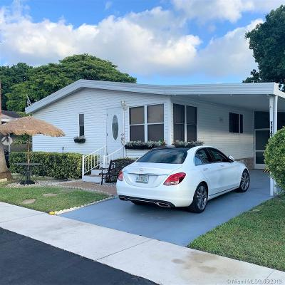 Davie Single Family Home For Sale: 11474 SW 9th St