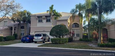 Coral Springs Single Family Home For Sale: 10646 NW 48th St