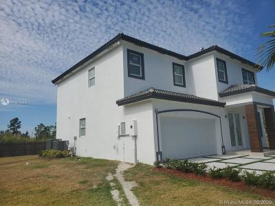 Homestead Single Family Home For Sale: 11780 SW 226 St