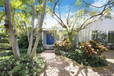 Key Biscayne Single Family Home For Sale: 128 W Mashta Dr