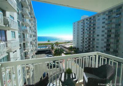 Miami Beach Condo For Sale: 401 Ocean Dr #606