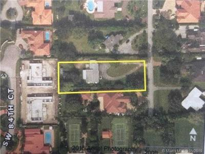 Miami Residential Lots & Land For Sale: 7650 SW 83rd Ct