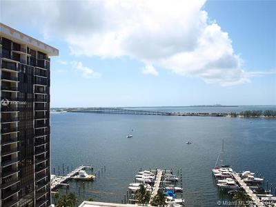 Brickell Rental For Rent: 1901 Brickell Ave #B2104