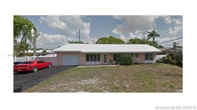 Fort Lauderdale Single Family Home For Sale: 1801 NE 54th St