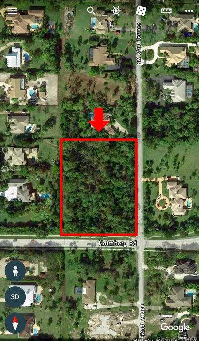 Broward County Residential Lots & Land For Sale: 62 NW Ter