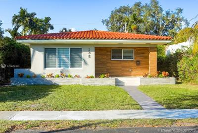 Miami Shores Single Family Home For Sale: 135 NE 98th St