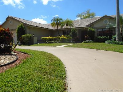 Tamarac Single Family Home For Sale: 8320 Black Olive Dr