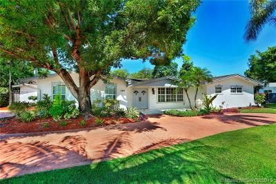 Pinecrest Single Family Home For Sale: 13501 SW 74th Ave