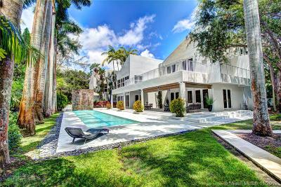 Coral Gables Single Family Home For Sale: 5455 Kerwood Ter