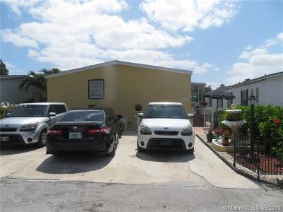 Miami Single Family Home For Sale: 19800 SW 180th Ave Lot #280