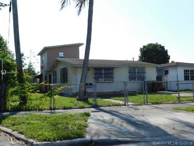 Hialeah Single Family Home For Sale: 2345 E 7th Ave