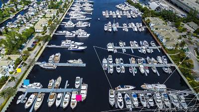 Fort Lauderdale Commercial For Sale: 2201 Marina Bay Dr. E #16-102