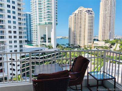Miami Condo For Sale: 701 Brickell Key Blvd #1106