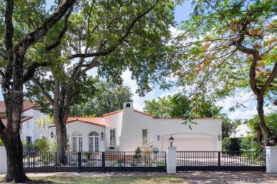 Coral Gables Single Family Home For Sale: 1320 Obispo Ave