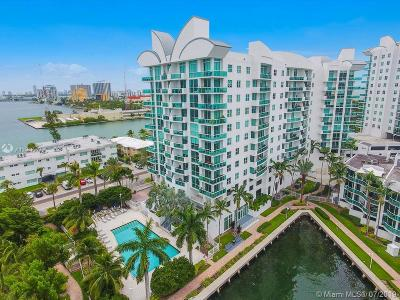 North Bay Village Condo For Sale: 7910 Harbor Island Dr #606