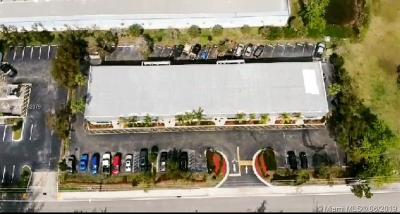 Sunrise Commercial For Sale: 10857 NW 50th St
