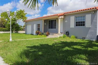 Miami Single Family Home For Sale: 2195 SW 25th Ter