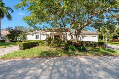 Single Family Home For Sale: 9591 SW 124th Ter
