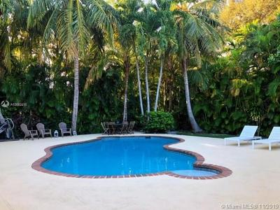 Coral Gables Single Family Home For Sale: 3920 Monserrate St