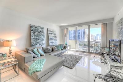 Miami Beach Condo For Sale: 1500 Bay Rd #728S