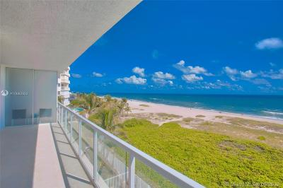 Pompano Beach Condo For Sale: 704 N Ocean Blvd #302