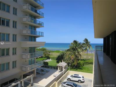 Surfside Condo For Sale: 9455 Collins Ave #510