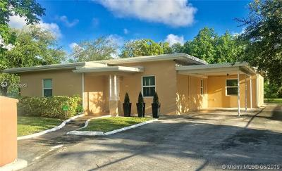 North Miami Single Family Home For Sale: 660 NE 142nd St