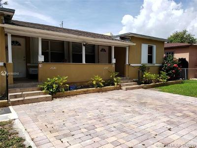 Miami Multi Family Home For Sale: 2530 SW 27th St