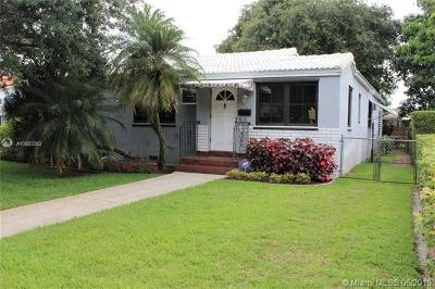 Miami Springs Single Family Home For Sale: 50 S Melrose Dr