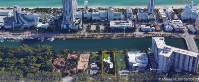 Miami Beach Residential Lots & Land For Sale: 4333 Pine Tree Dr